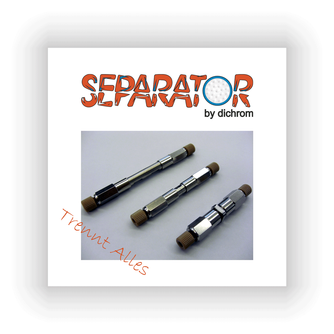 Separator™ Aquarius HPLC Säule, C28 12 nm, 50 mm x 2 mm, 3 µm